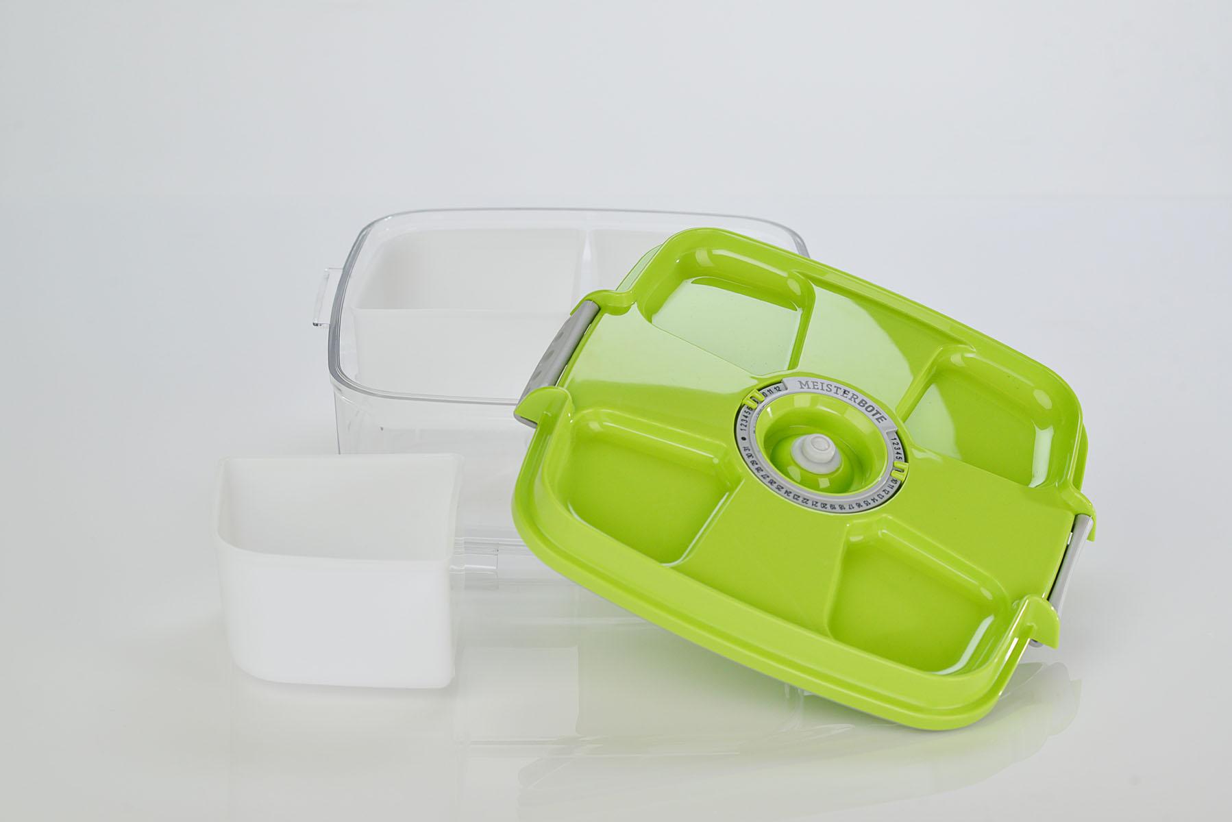 Menüschale ecoBOX 2,0 Liter quadratisch